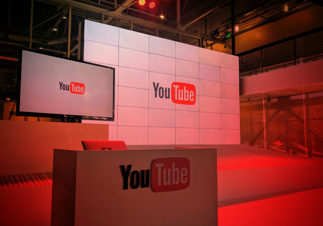 Image Of Youtube TV Stage From Announcement Day